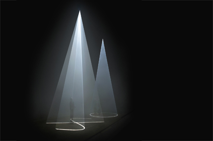 Vertical Works di Anthony McCall