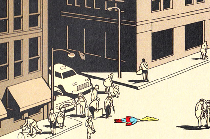 Chris Ware - Superman Suicide