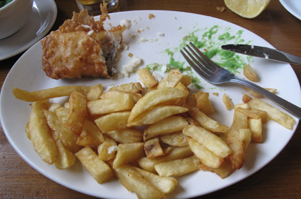 fish and chips di bankers