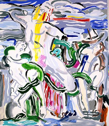 Roy Lichtenstein — Laocoon (1988)