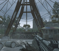 La ruota panoramica di Pripyat in Call of Duty 4: Modern Warefare