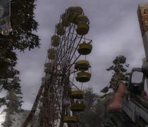 La ruota panoramica di Pripyat in S.T.A.L.K.E.R.